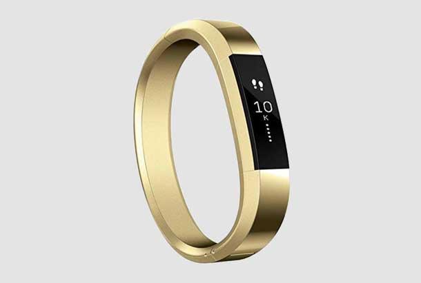 Bandje voor Fitbit Alta - Metaal - Goud