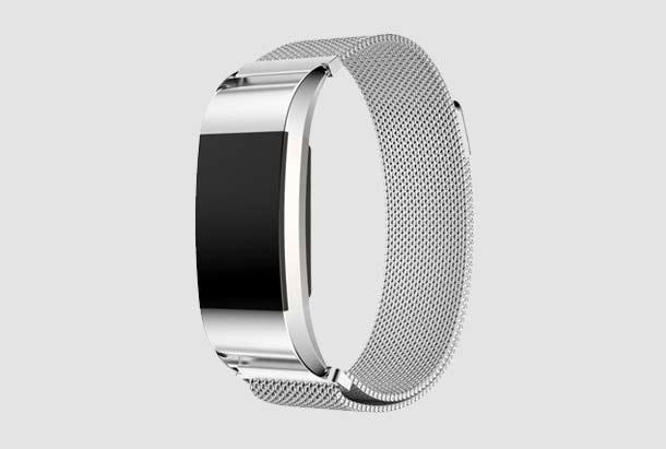 Fitbit Charge 2 Milanees armbandje - zilver kopen