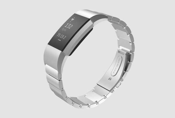 Fitbit Charge 2 metalen arm band