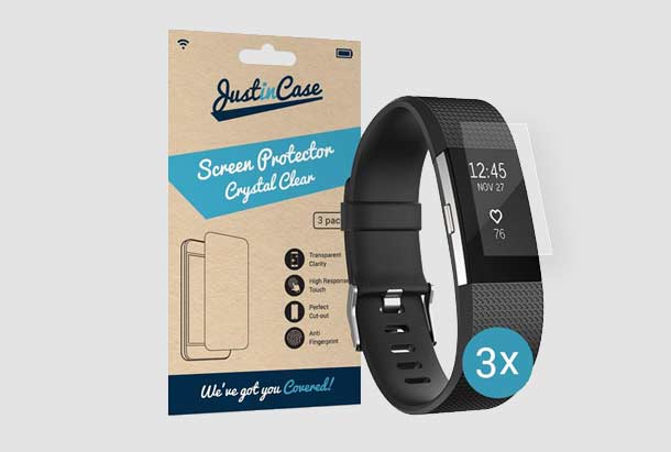 Fitbit Charge 2 beste screen protector