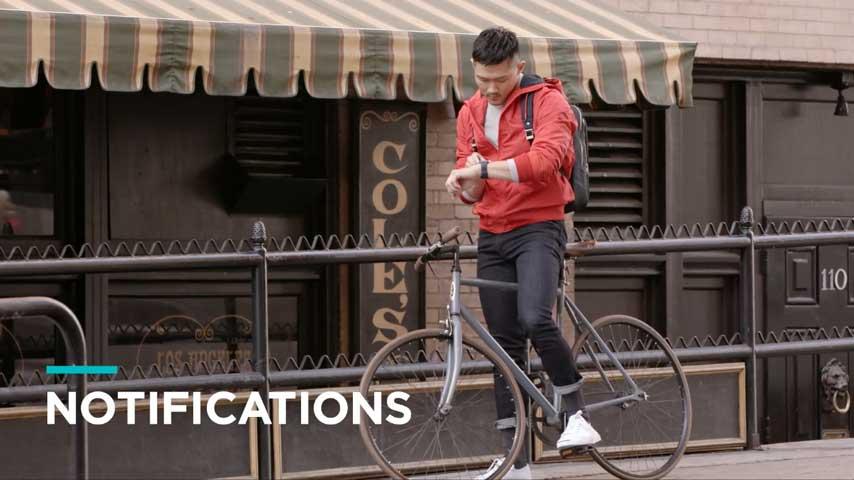 Fitbit Ionic Smartwatch maakt je leven makkelijk - Notificaties