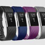 FitBit Charge 2 Bandjes Speciale Editie Mix Zwart Blauw Paars Grijs