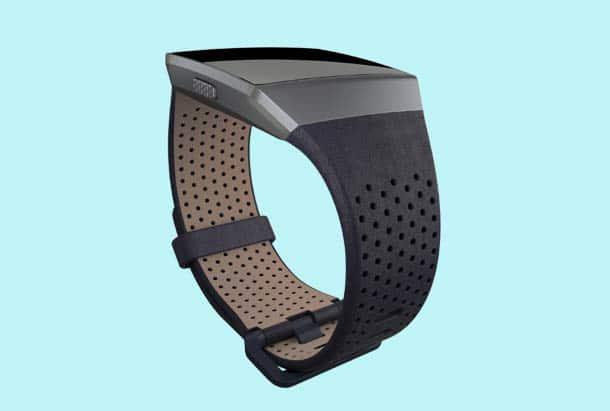 Fitbit Accessoires - Fitbit Leren bandjes - Kleur Midnight Blue