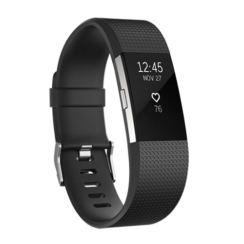 Fitbit Charge 2 - Activity Tracker - 2016 - Zwart