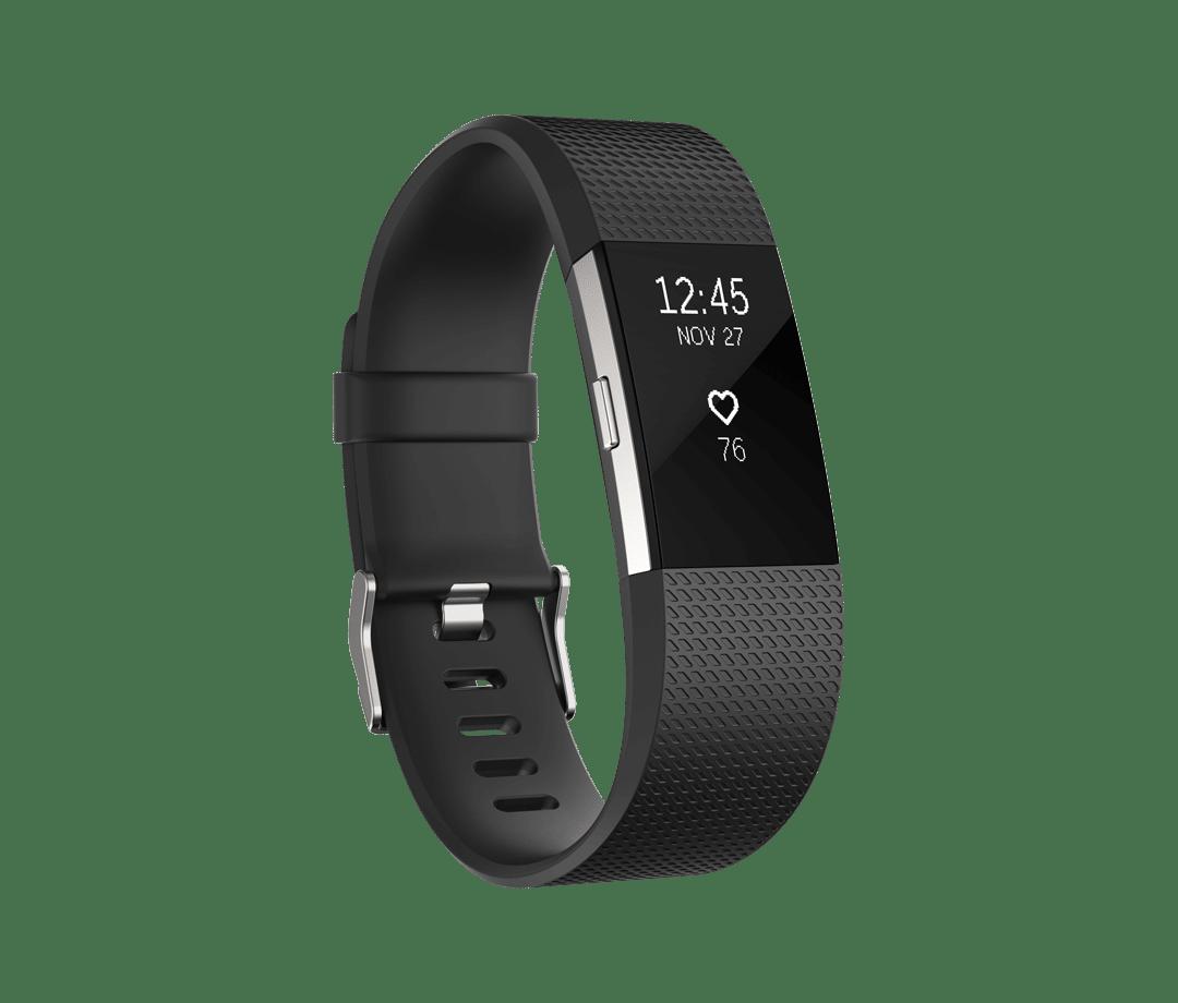 Fitbit Charge 2 Kleur Zwart 1