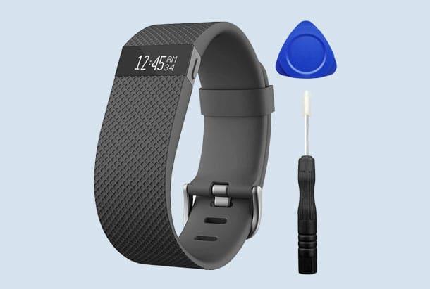 Fitbit Charge HR reparatie setje bandje vervangen met bandje