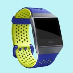 Fitbit Ionic Sportbandje Blauw Geel