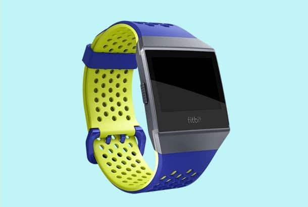 Fitbit Ionic Accessoires - Fitbit Ionic Sportbandje Kleur Blauw Geel