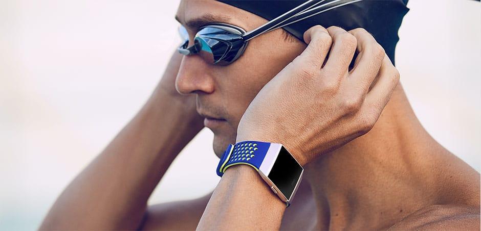 Fitbit Ionic Accessoires Fitbit Ionic Sportbandjes kleur blauw geel