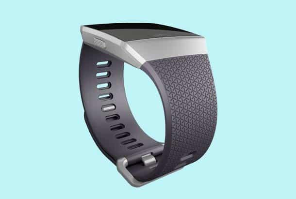 Fitbit Ionic Bandje Kleur Zilvergrijs - Fitbit Ionic Smartwatch