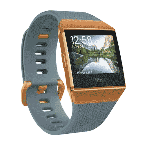 Fitbit Ionic - GPS Smartwatch - 2017 - Grijs Oranje