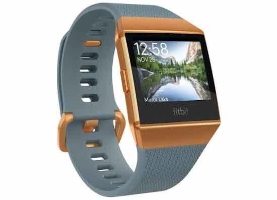 Fitbit Ionic Smartwatch - Blauw Oranje Kopen