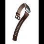 Fitbit Ionic Smartwatch Leren Pols Bandje Cognac kleur 1