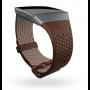 Fitbit Ionic Smartwatch Leren Pols Bandje Cognac kleur 3