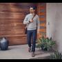 Fitbit Ionic Smartwatch Leren Pols Bandje Cognac kleur 4