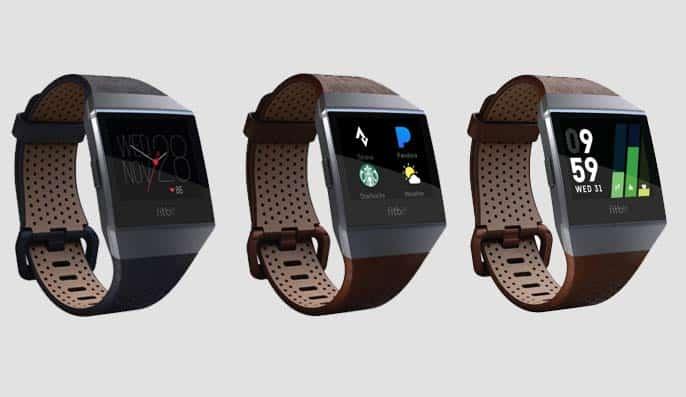 Fitbit Ionic Leren Bandjes - Fitbit Ionic Accessoires