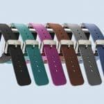 Fitbit Charge 2 Leren Bandjes Set met 6 kleuren