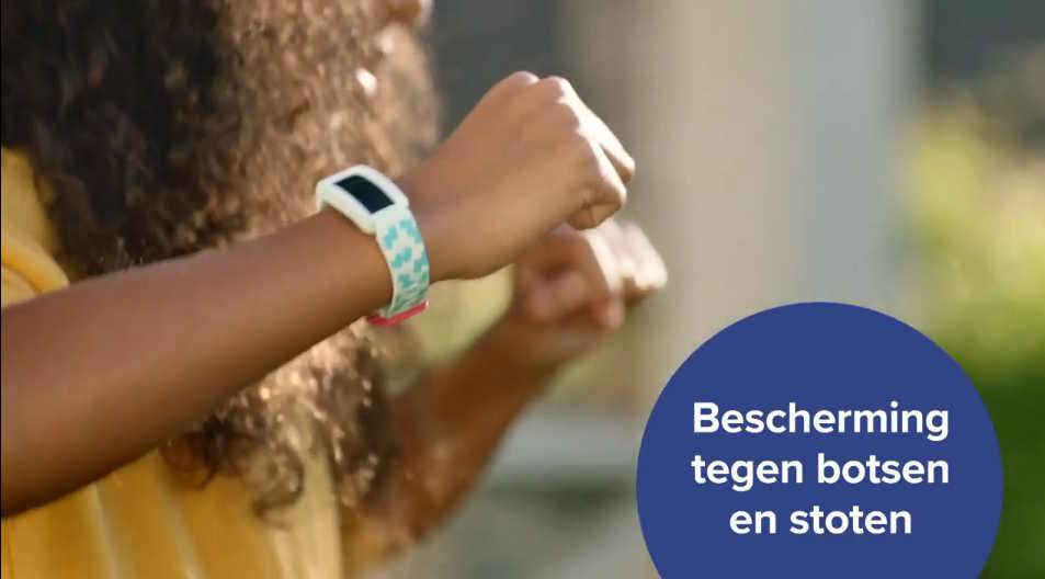Fitbit Ace 2 voor kinderen - activity tracker - beschermd tegen botsen en stoten