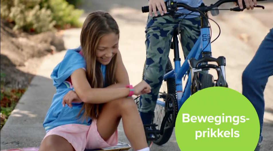 Fitbit Ace 2 Fitness tracker voor kinderen - bewegings prikkels