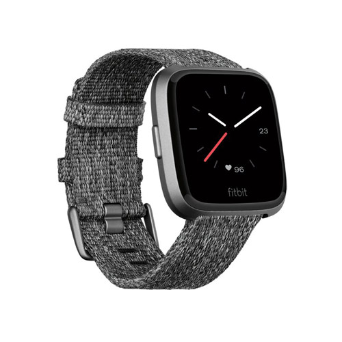 Fitbit Versa - Smartwatch - Special Edition Donkergrijs