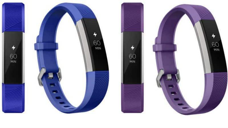 Fitbit Ace fitness tracker voor kinderen blauw en paars