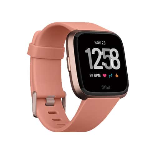 fitbit versa smartwatch 2018 roze perzik