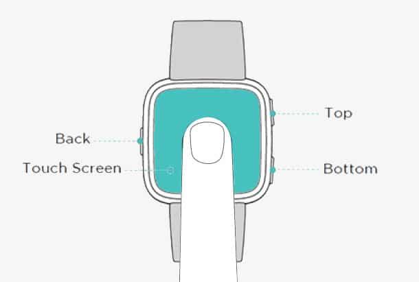 Fitbit Versa Handleiding (2018) Handleiding Fitbit Versa Smartwatch