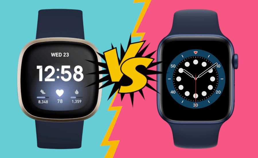 Fitbit Versa 3 vs Apple Watch Series 6