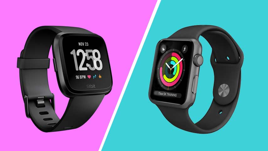 Fitbit Versa vs Apple Watch: Wat is het verschil?