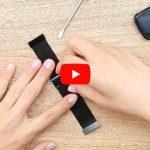 Fitbit Versa metalen (Mesh) bandje inkorten
