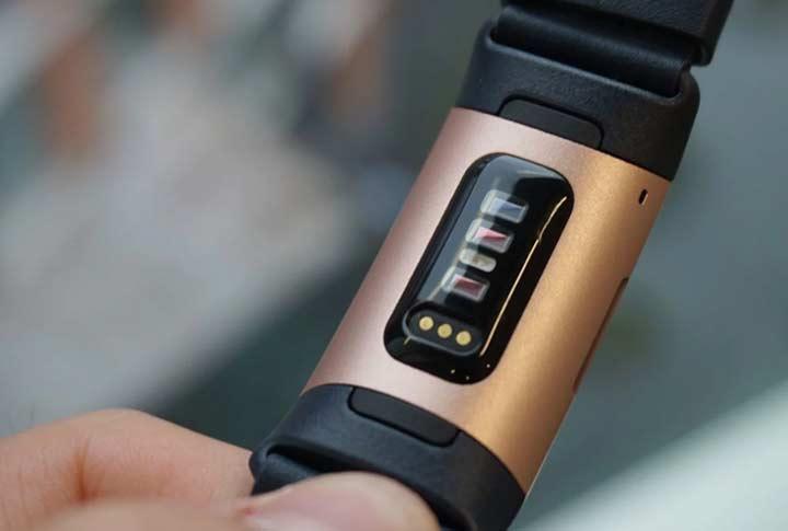 Fitbit charge 3 geavanceerde hartslag meter