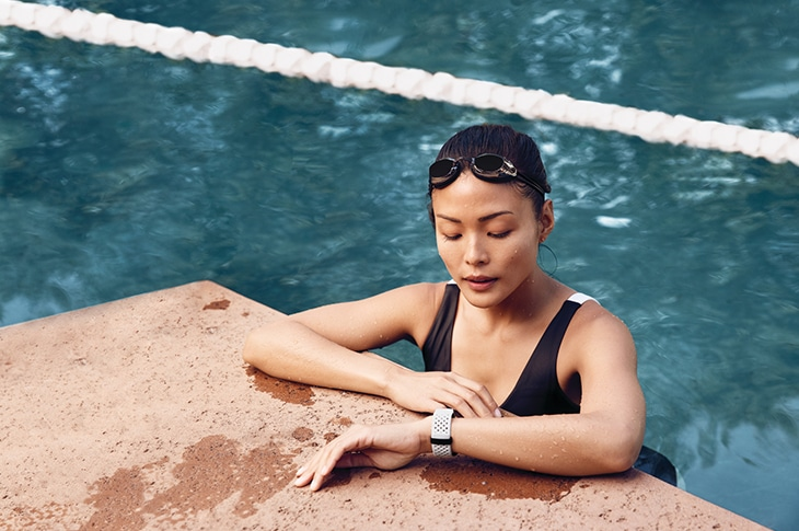 Fitbit charge 3 zwemmen