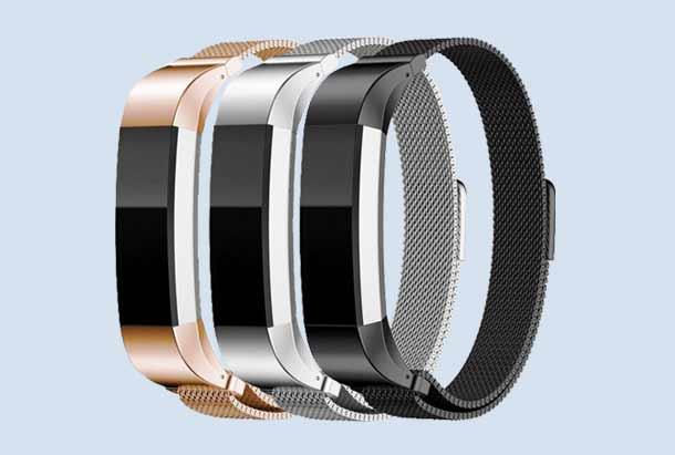 Milanees Horloge Band Voor de Fitbit Alta (HR)