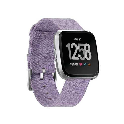 Fitbit Versa Smartwatch Special Edition Lavendel Bandje - Alternatief - Paars
