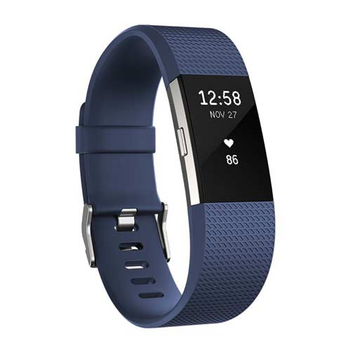 Fitbit Charge 2 - Activity Tracker - 2016 - Blauw
