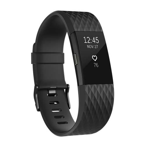 Fitbit Charge 2 Activity tracker Gun Metal Kopen