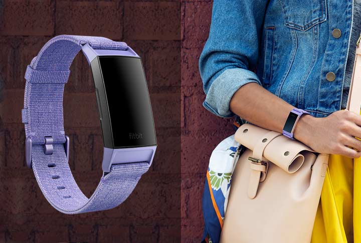 Fitbit Charge 3 Activity tracker geweven bandjes
