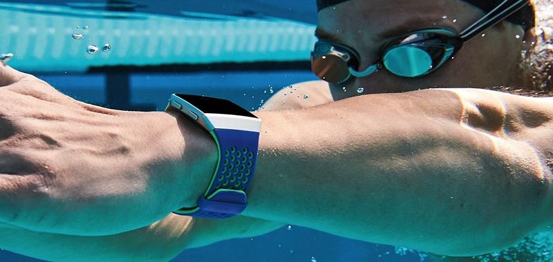 Fitbit Ionic voor zwemmen - waterdicht