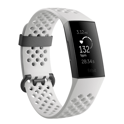Fitbit Charge 3 Special Edition Graphite/White Kopen via Bol.com