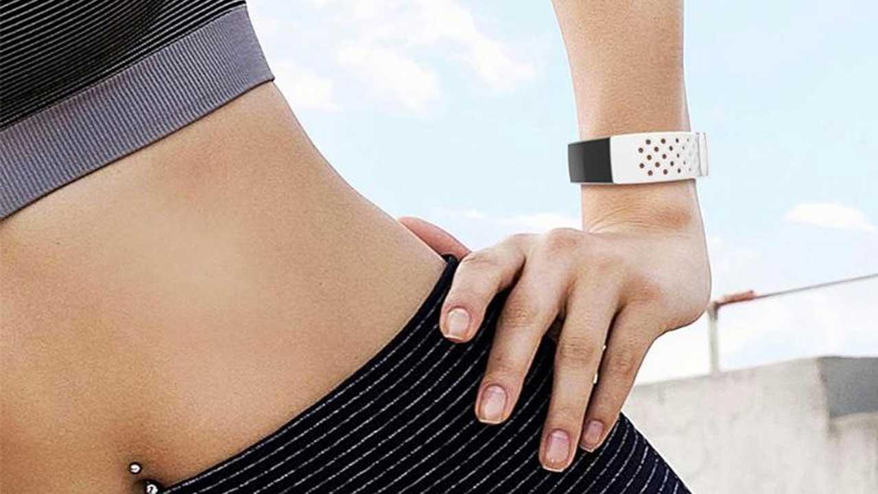 Fitbit Charge 3 Sportbandje Wit