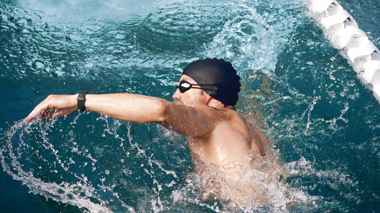 Fitbit Charge 3 Sportbandjes - Zwemmen