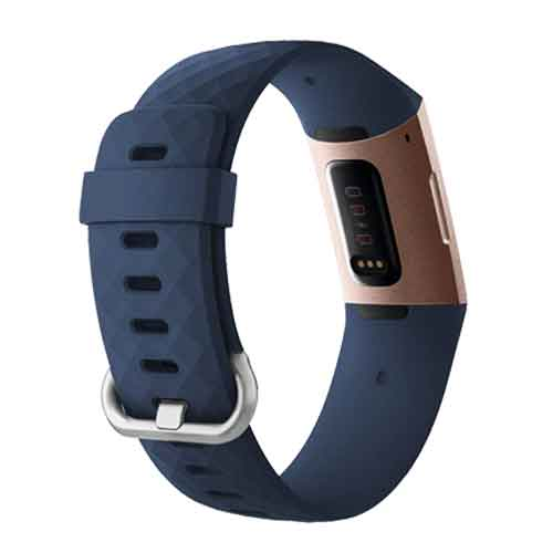 Fitbit Charge 3 bandjes - Classic bandje - Blauw