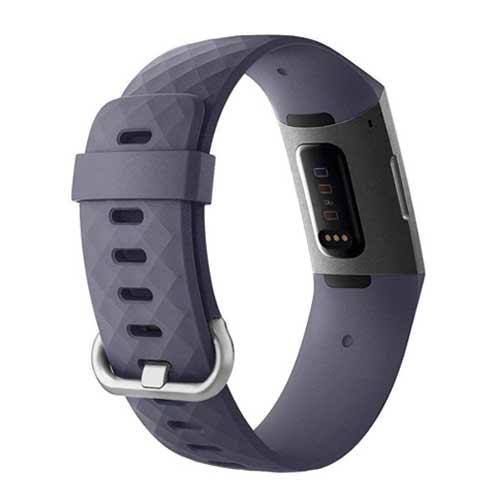 Fitbit Charge 3 bandjes - Classic bandje - Grijs Blauw