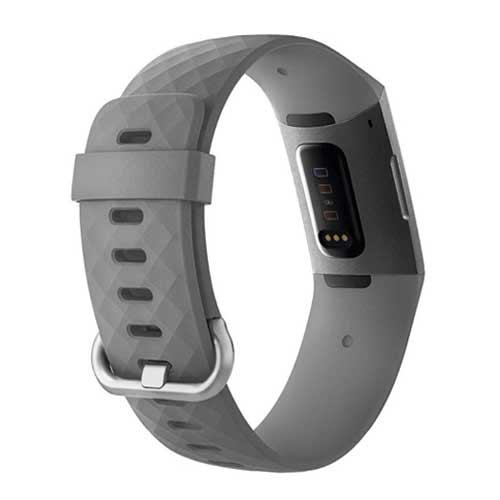 Fitbit Charge 3 bandjes - Classic bandje - Grijs