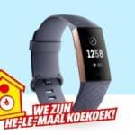 Goedkoopste Fitbit Charge 3 Activity tracker Kopen?