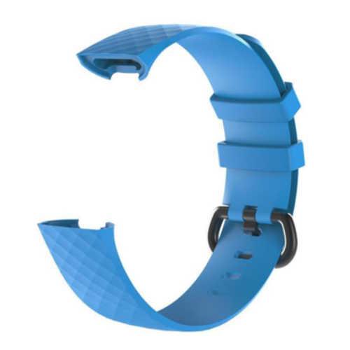 Fitbit Charge 3 bandjes - Classic bandje - Lichtblauw