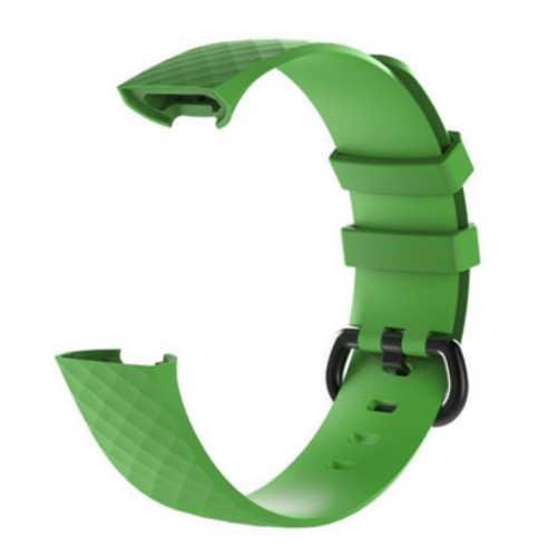 Fitbit Charge 3 bandjes - Classic bandje - Groen