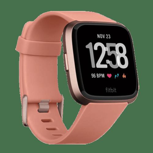 FitBit Versa Smartwatch Perzik - Kopen via Bol.com
