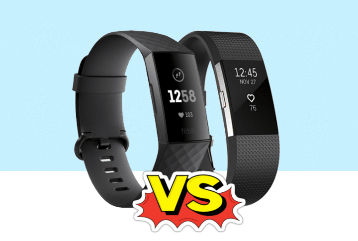 Verschil Fitbit Charge 3 (2018) V/S Fitbit Charge 2 (2016)