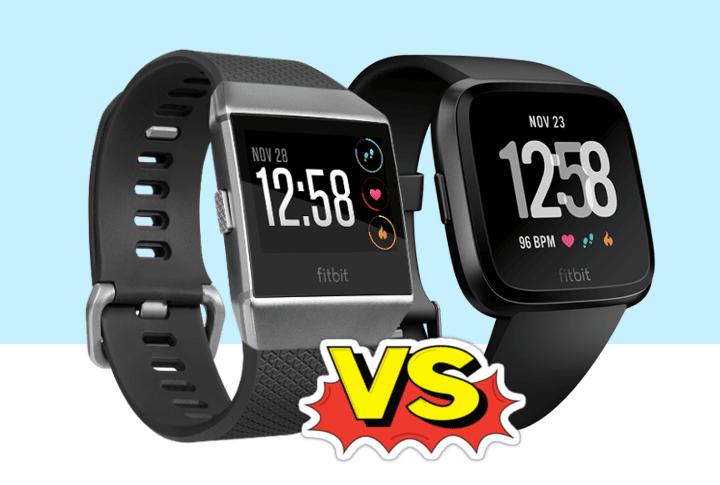 Verschil Fitbit Ionic (2017) V/S Fitbit Versa (2018) Smartwatch